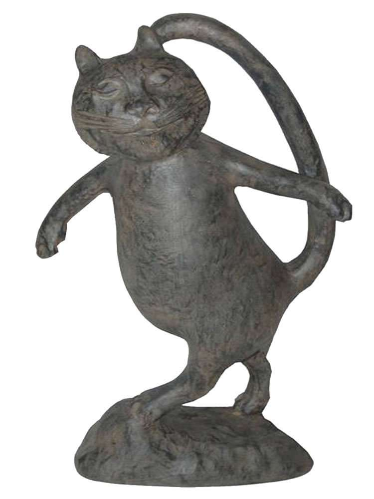Oscar the Cat Garden Statue