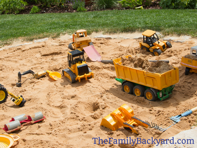 How to Build a Sandpit
