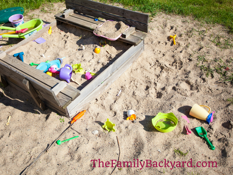 How to Build a Sandpit | The Family Backyard