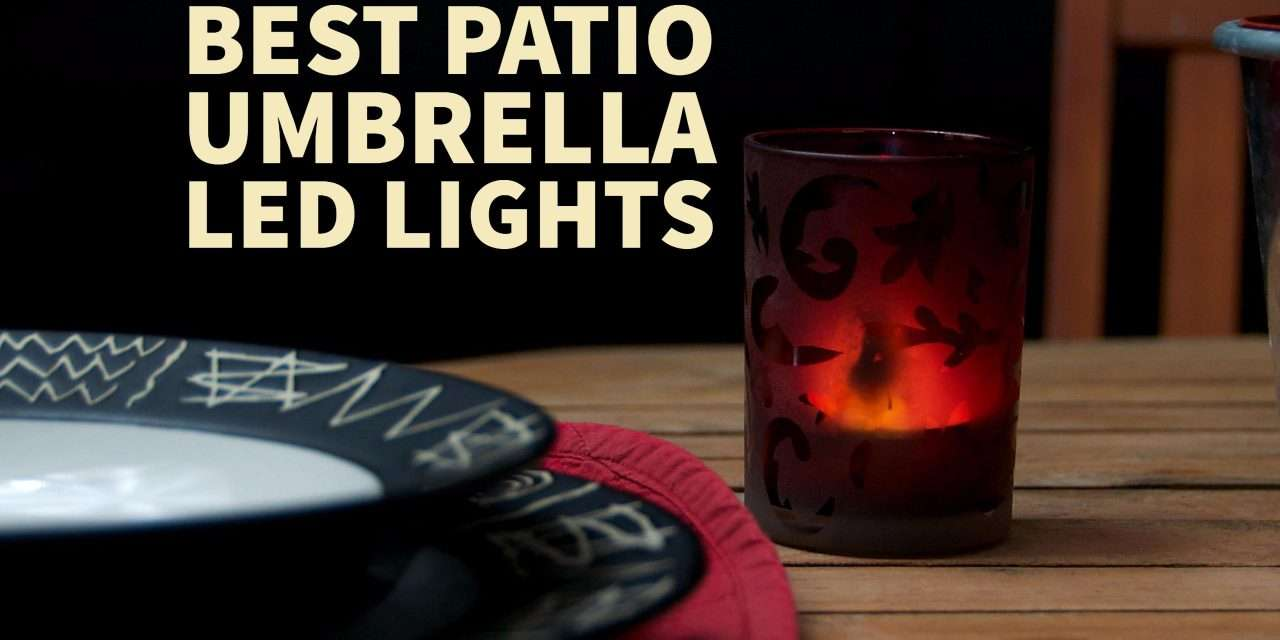 best patio umbrella light - the family backyard Best Patio Umbrella