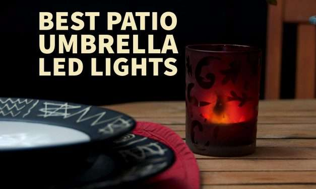 Best Patio Umbrella Light